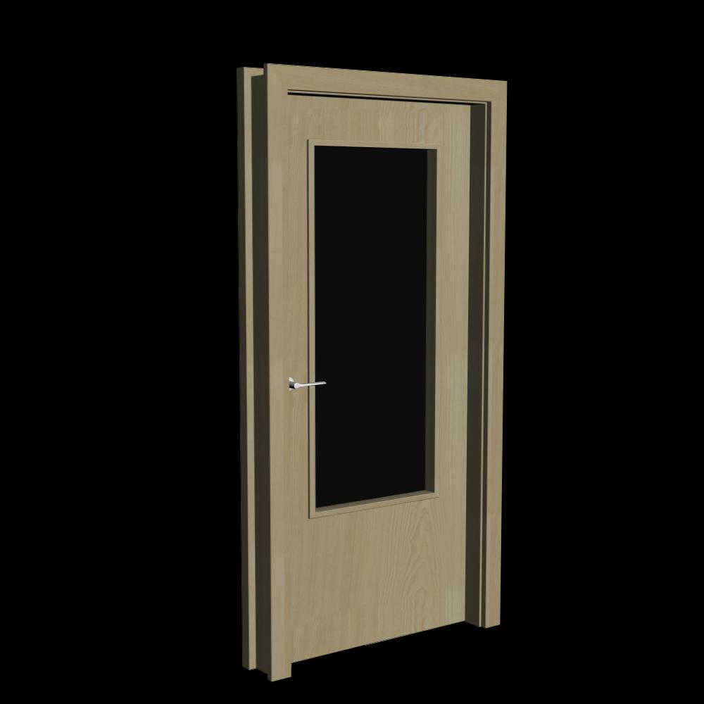 innent r holz mit glaseinsatz einrichten planen in 3d. Black Bedroom Furniture Sets. Home Design Ideas