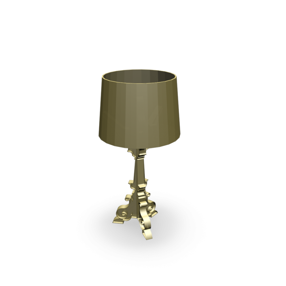 Bourgie Gold Table Lamp Design And Decorate Your Room In 3d