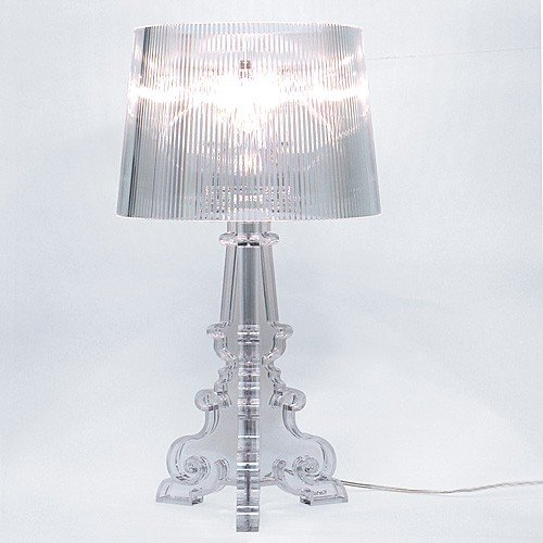... Bourgie Silver Table Lamp By Kartell ...
