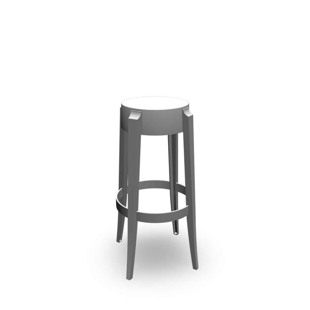 Ghost Bar Stools Ghost Fixed Height Transparent Acrylic