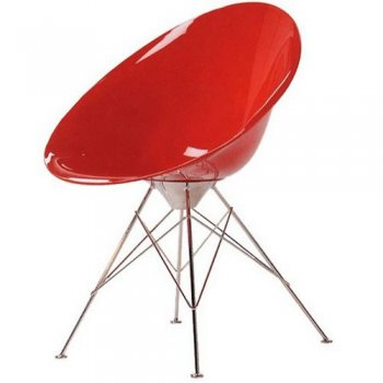 Ero/S/ chair wire feet armchair by Kartell