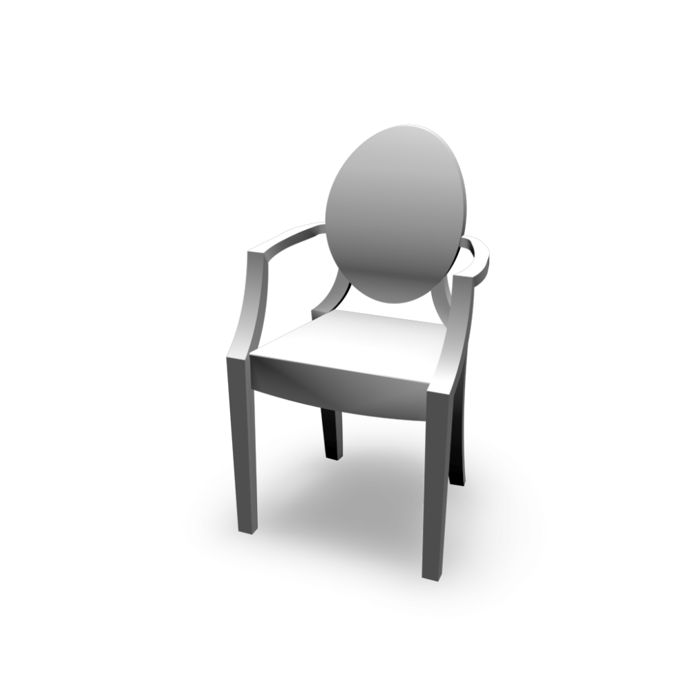 louis ghost chair design and decorate your room in 3d. Black Bedroom Furniture Sets. Home Design Ideas