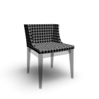 Mademoiselle Starck Armchair for your 3d room design