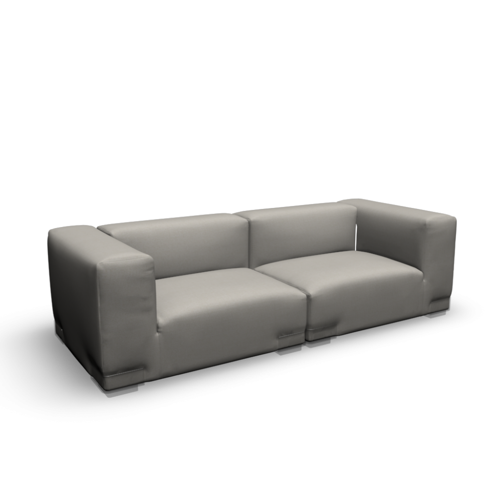 Plastics duo design and decorate your room in 3d for Transparent sofa cover