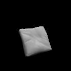 Plastics Duo Cushion for your 3d room design