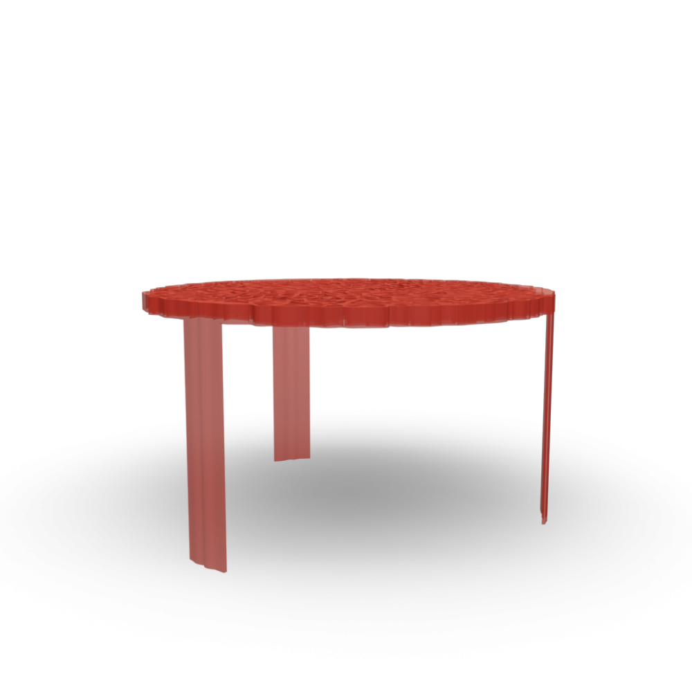 T table side table design and decorate your room in 3d for Table kartell