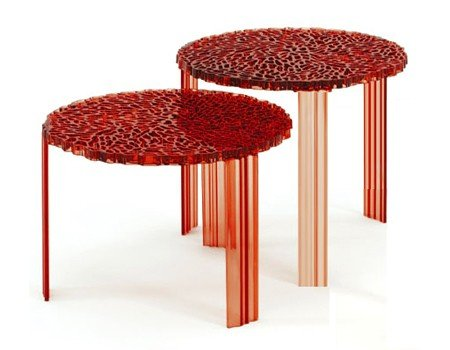 T-Table side table by Kartell