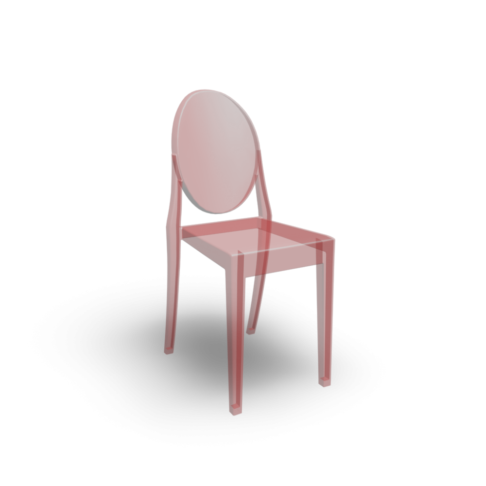 Victoria Ghost Chair Design And Decorate Your Room In 3D