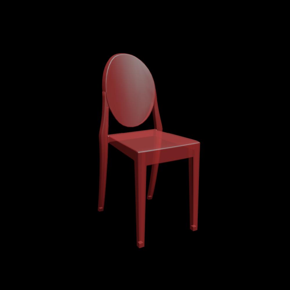 Victoria Ghost Stuhl Einrichten & Planen in 3D