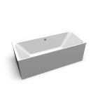 myDay Badewanne 1700x750 mm mit Bohrung für Überlauf an Wandseite von Keramag Design