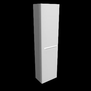 myDay Hochschrank 400x250x1500 mm, Korpus/Front: Weiß Hochglanz von Keramag Design