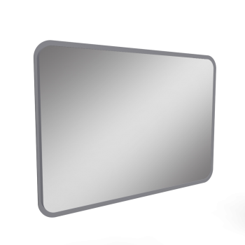 myDay Illuminated mirror element 1000x30x700 mm by Keramag Design