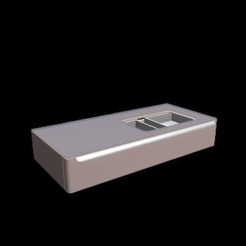 myDay Waschtischunterschrank 1150x520x200 mm, mit Hahnloch rechts von Keramag Design