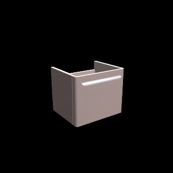 myDay Waschtischunterschrank 495x405x410 mm, Korpus/Front: Taupe Hochglanz von Keramag Design