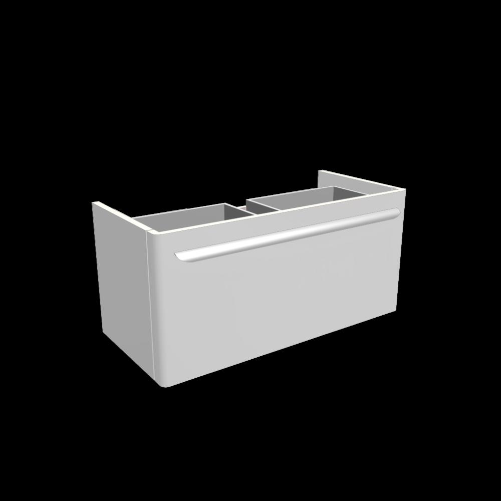 myday waschtischunterschrank 880x405x410 mm korpus front wei hochglanz einrichten planen. Black Bedroom Furniture Sets. Home Design Ideas