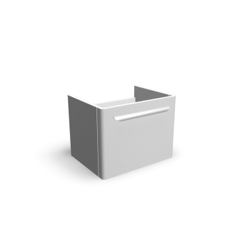 myDay Waschtischunterschrank 540x405x410 mm, Korpus/Front: Weiß Hochglanz von Keramag Design