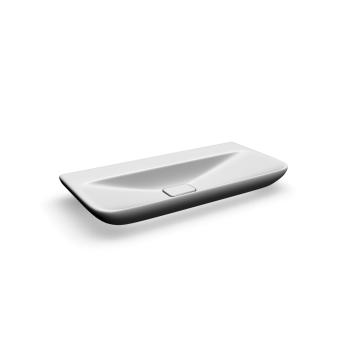 myDay Wash basin 1000x480 mm, without overflow by Keramag Design