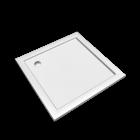 Preciosa 2 Quadratische Duschwanne 1000 x 1000, Weiss für die 3D Raumplanung