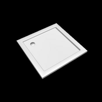 Preciosa 2 Quadratische Duschwanne 900 x 900, Weiss von Keramag Design
