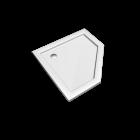 Preciosa 2 Fünfeck-Duschwanne 900 x 900, Weiss für die 3D Raumplanung