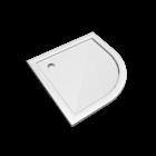 Preciosa 2 Viertelkreis-Duschwanne 1000 x 1000, Weiss für die 3D Raumplanung