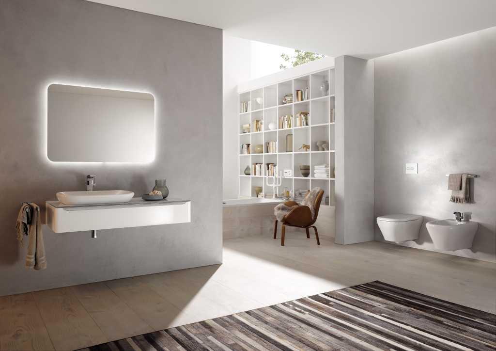 Xeno2 Illuminated Mirror Element 900mm Design And Decorate