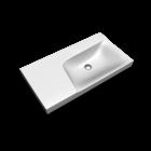 Xeno2 WT 900mm, Ablage links, o.HL/o.ÜL von Keramag Design