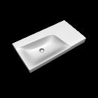 Xeno2 Waschtisch 900mm, Ablage rechts, o.HL/o.ÜL von Keramag Design