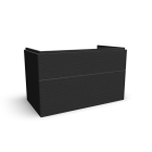 Xeno2 WTU 900x530mm/ 2 Schubladen, Grau von Keramag Design