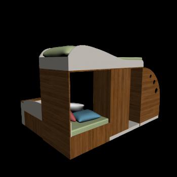 Kinderbettmöbel