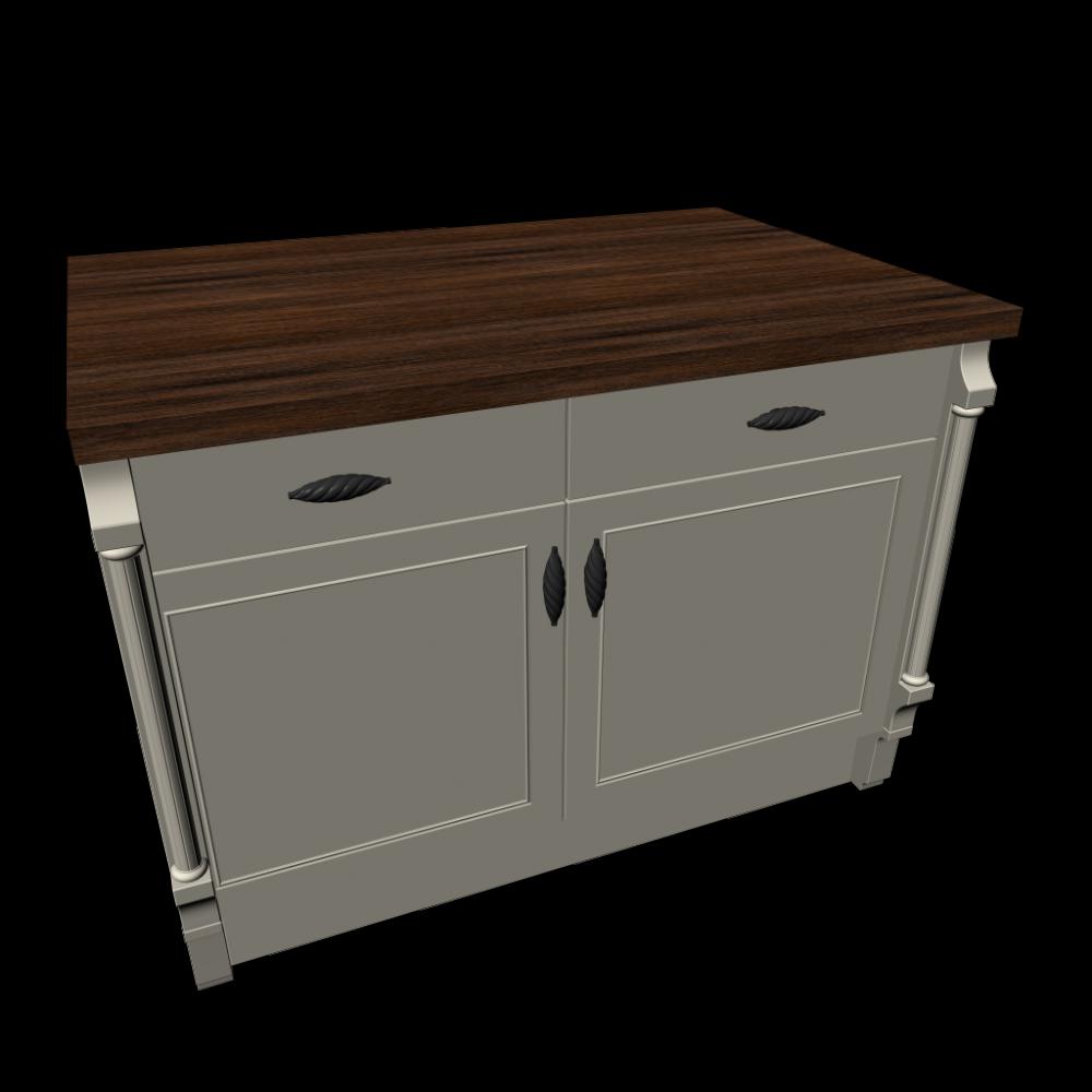 Kitchen island kitchens start 3d room design dimension 1222mm x 912mm