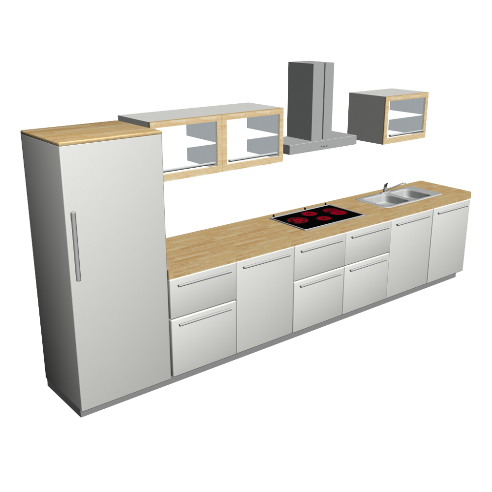 kitchenette design and decorate your room in 3d. Black Bedroom Furniture Sets. Home Design Ideas