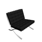 Barcelona chair for your 3d room design