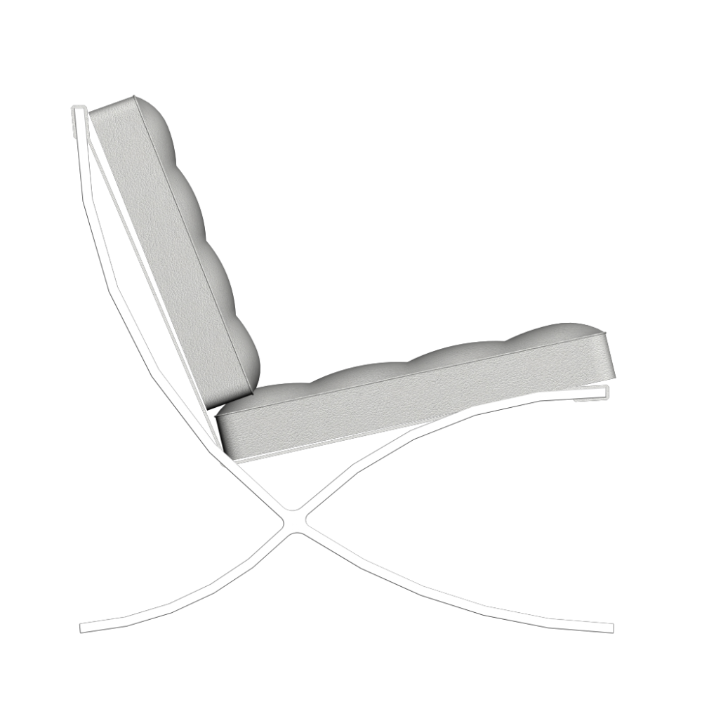 Barcelona Chair Design And Decorate Your Room In 3d