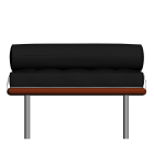 Barcelona day bed by KNOLL