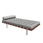 Barcelona day bed for your 3d room design