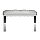 Barcelona footstool by KNOLL