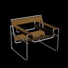 Wassily Modell B3 Stuhl von KNOLL