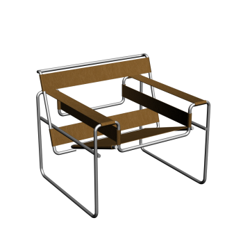 Wassily Modell B3 armchair by KNOLL