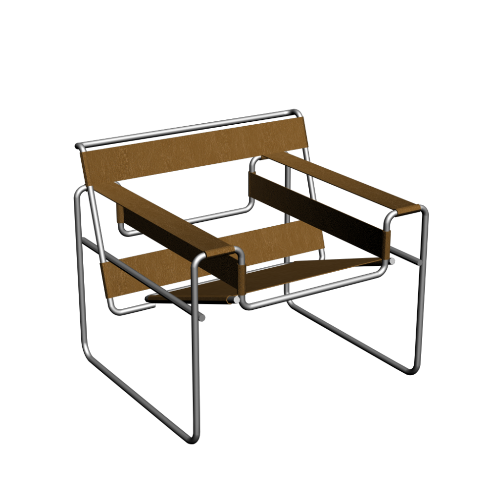 Wassily modell b3 armchair design and decorate your room for Wassily stuhl design analyse