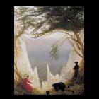 Kreidefelsen auf Rügen von Caspar David Friedrich
