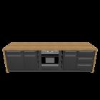 Kücheninsel für die 3D Raumplanung