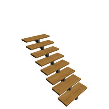 kurze Treppe