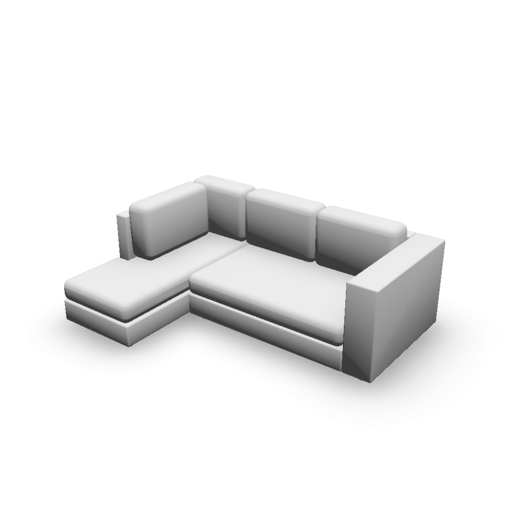 Couch l form couch l form mit schlaffunktion sessel und for Couch kolonialstil