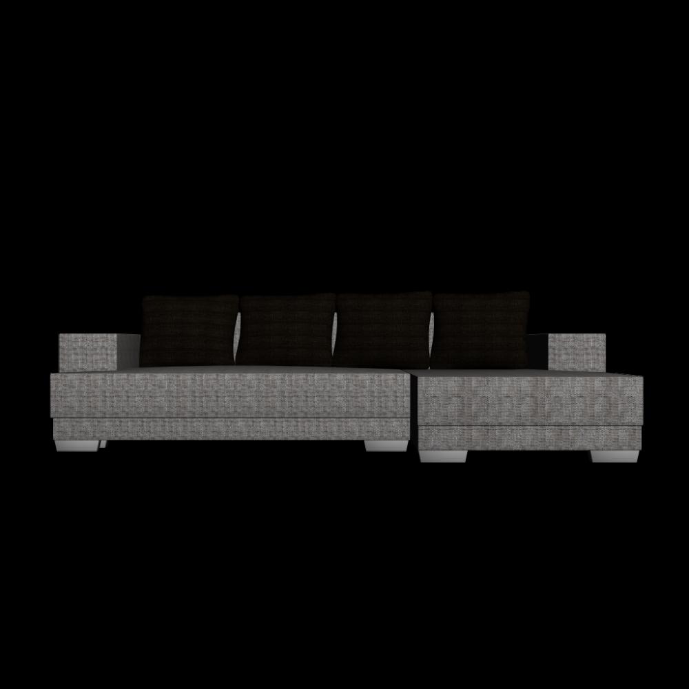 l form couch mit strukturstoffbezug einrichten planen in 3d. Black Bedroom Furniture Sets. Home Design Ideas