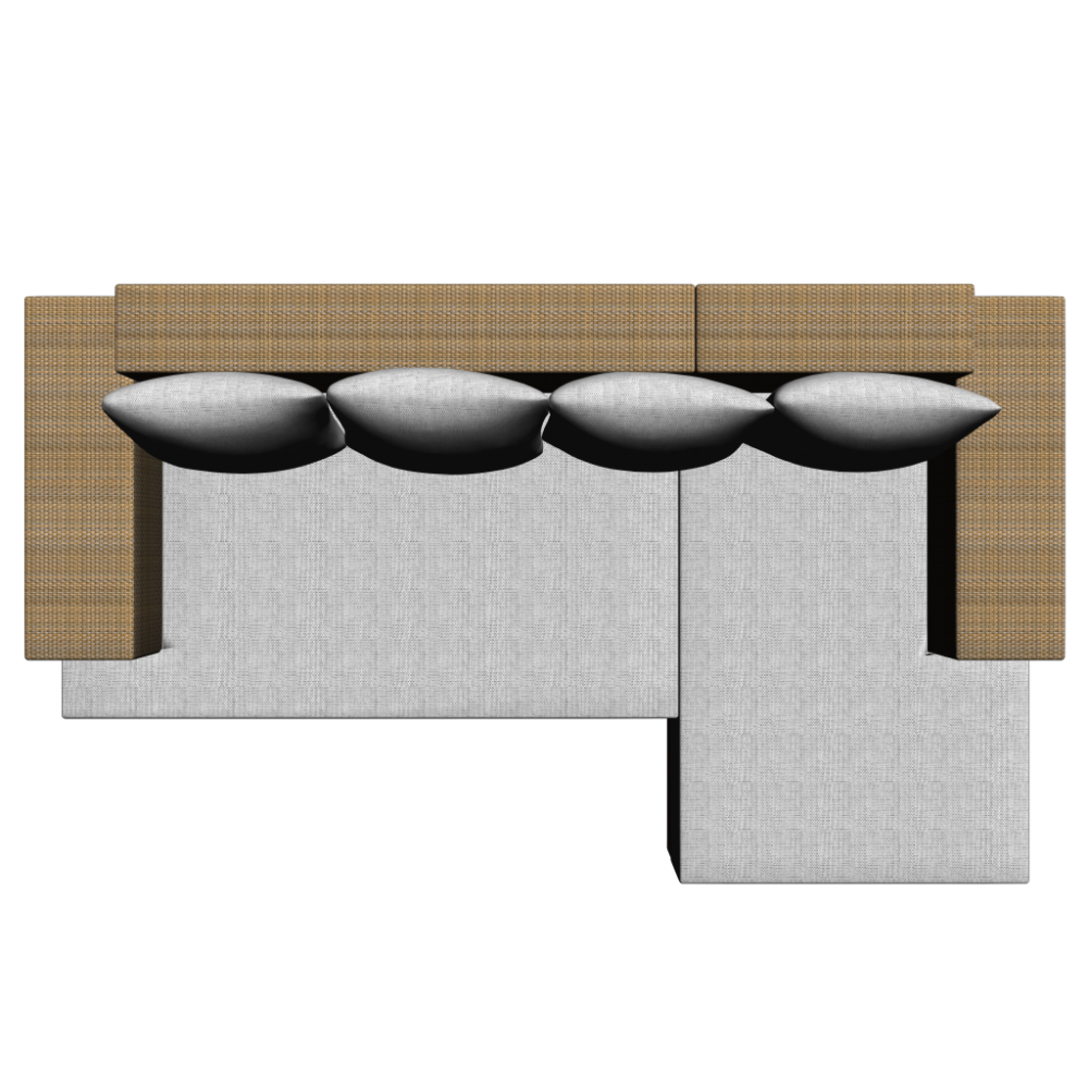 Design#5000658: L-form sofa - design and decorate your room in 3d. Couch L Form