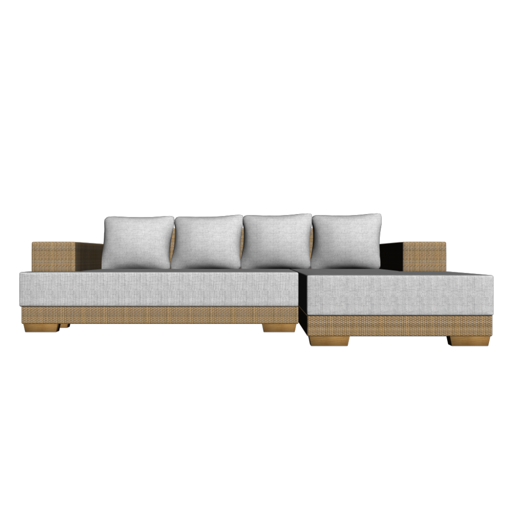 L-form Sofa - Design And Decorate Your Room In 3d Couch L Form