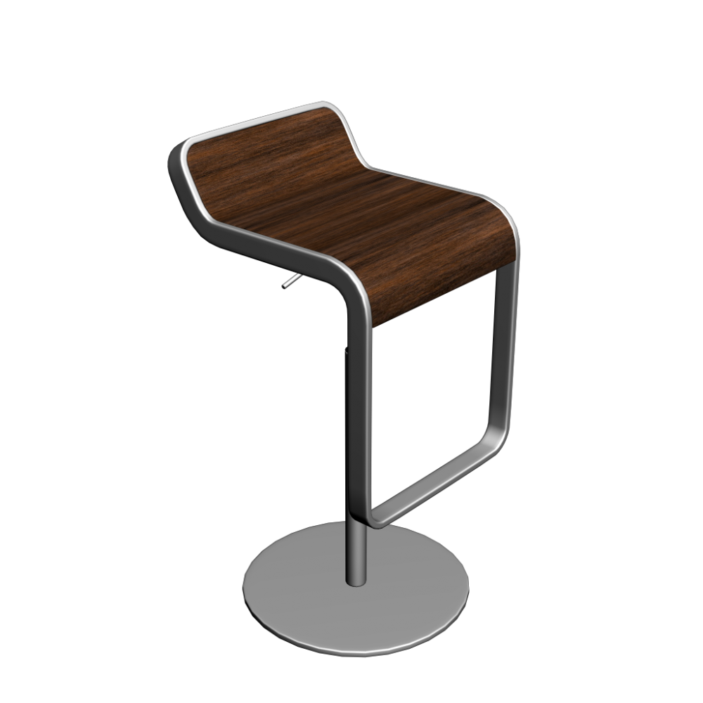 LEM Bar stool - Design and Decorate Your Room in 3D