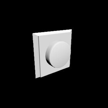 Lichtschalter mit 1 Dimmer