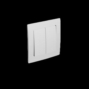 Lichtschalter mit zwei Tastern